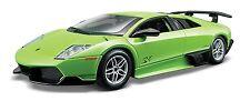 Bburago 1:24 Lamborghini Murcielago LP670-4 SV Green Racing Car Diecast Model