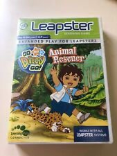 Leapster & 2 ~ Go Diego Go Animal Rescuer Age 4-7 Pre K - 1st Grade