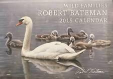 NEW 2019 Robert Bateman Calendar Rare Book Wild Families Swan
