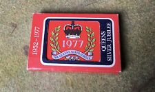 Queen Elizabeth's Silver Jubilee 1977 Sealed Pack Playing Cards