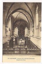couvent de la grande chartreuse ,chapelle des pères