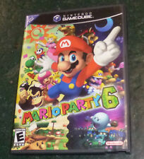 Mario Party 6 Nintendo GameCube With Manual Free Shipping