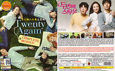 SECOND TIME TWENTY YEARS OLD AGAIN 두번째 스무살 (1-16 End) Korean Drama DVD Eng Subs