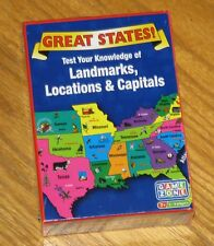 Great States Card Game - Landmarks Locations Capitals - Sealed