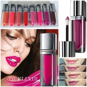 Maybelline Color Sensational Elixir Lip Lacquer Gloss NEW Choose your Shade