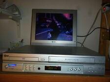 VIDEOREGISTRATORE LG DVC6500 COMBI DVD VCR VHS CASSETTE RECORDER PAL 6 TESTINE