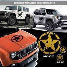 KIT 3 STICKERS STAR MUD BODYWORK GRAPHIC JEEP WRANGLER OFF ROAD GOLD