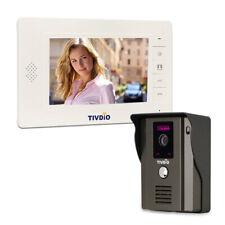 """7""""Video Door Phone Intercom Entry System IR Night Vision Camera Doorbell Hotel"""
