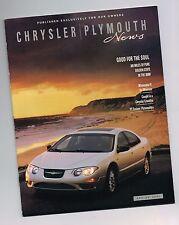 2001 CHRYSLER Magazine <Brochure?Info>: PT Cruiser,CROSSFIRE,Sebring Conv.,300M,