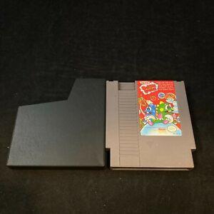 Bubble Bobble, Game w/ Protective Sleeve, Nintendo NES