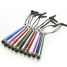 10x Metal Stylus Touch Screen Pen & Anti-Dust Plug For Cell Phone iPad Tablet NN