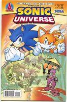 Sonic Universe 15 Archie 2010 NM Hedgehog Sega Tails