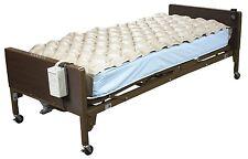 Med Aire Air Mattress Alternating Pressure Pump Pad Medical Bed Overlay Hospital