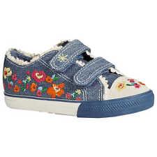 Next Schuhe Sneaker Halbschuhe Sportschuhe Turnschuhe Gr 26,5 26 27 Blau Blumen