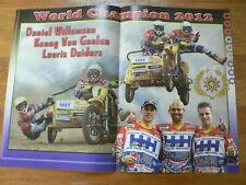 A667- MX MOTOCROSS POSTER DANIEL WILLEMSEN, KENNY V. GAALEN, LAURIX DAIDERS SIDE