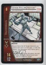 2006 VS System Marvel X-Men Booster Pack Base #MXM-216 Genis-Vell Photon - q0l
