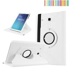 """COVER + PROTETTORE + STYLUS TABLET SAMSUNG GALAXY TAB E 9.6"""" T560 T565 - BIANCO"""