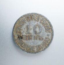 1920 Ten Centavo Culion Leper Colony Philippine coin