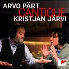 """KRISTJAN JÄRVI """"""""ARVO PÄRT CANTIQUE"""" CD NEU"""