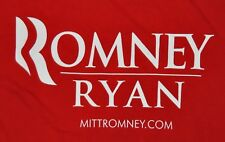 t-shirt xlarge mitt romney ryan presidential election 23.5 inches pit to pit