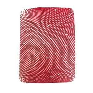 Women Rhinestone Fishnet Pantyhose Shiny Tights Net Hosiery Lace Mash Stockings