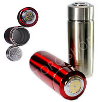 Red Healthy Life Energy Filter Quantum Flask Alkaline Water Ionizer Bottle