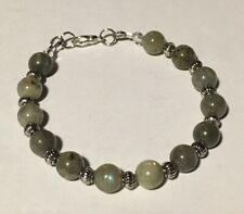 Natural Labradorite 6-8mm Bracelet