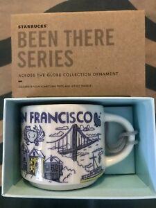 Starbucks 2oz SAN FRANCISCO Demi Tasse BEEN THERE mug Ornament Cup Mini Mug NIB