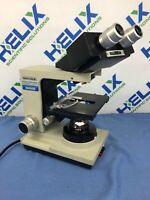 Bausch & Lomb Balplan Base Microscope (31-01-51) w/ Optilume Illuminator (3)