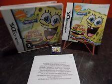 Spongebob Schwammkopf Frantic Frittieren Nintendo DS PAL rr013