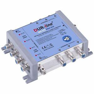 DUR-line MS 5/6 Blue eco Multischalter Quad LNB tauglich für 1 SAT 6 Teilnehmer