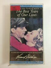 The Best Years of Our Lives (Vhs, 1946) ‧ War/Drama, Harold Russell, Myrna Loy