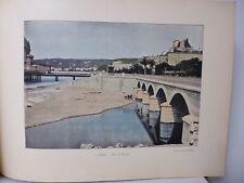 nice : Gravure 19° in folio couleur /LE PAILLON