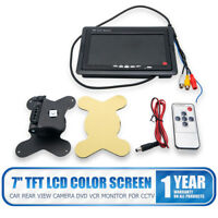 "7"" TFT LCD Car Rear View Screen Monitor For Reversing Camera / DVD VCD(12V-24V)"