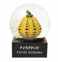 YAYOI KUSAMA Pumpkin Yellow Snow Globe Moma Design Store Limited w/ Tracking NEW