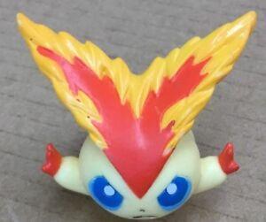 B.2011 Pokemon Finger Puppet Mega Victini Figure Catch Them All Nintendo Bandai