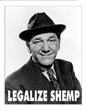 Legalize Shemp Comedy The Three Stooges Retro Humor Metal Sign