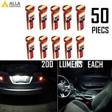 Alla Lighting Bright White 194 License Plate Light Bulb|Map Light Bulb,Interior