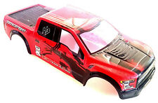 1928V2SR RC 1/10 Scale RC Monster Truck Body Shell Cover Red Cut