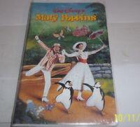 NEW - SEALED - Mary Poppins Walt Disney VCR VHS Movie Julie Andrews 1998