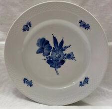 "Royal Copenhagen Blue Flower 10"" Dinner Plate-Weave Boarder-8097"