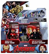 Marvel Avengers Age of Ultron Iron Man & Black Widow Minimates Action Figures