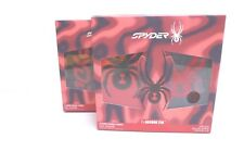 Spyder Men's High Performance Crew Socks *2 Pairs *Shoes Size 6-12 *New