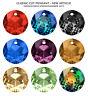Genuine SWAROVSKI 6430 Classic Cut Crystal Pendants * Many Colors & Sizes