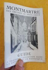 MONTMARTRE des druides au Sacré-Coeur Guide exposition paris tourisme