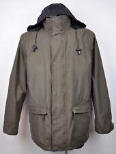 GANT Manhattan Double Jacket Coat Men's Winter Warm Brown Windbreaker Raincoat