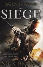 The Siege (Agent of Rome), Brown, Nick, New Books