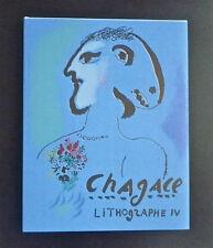 Marc CHAGALL catalogue raisonné des lithos, TIV 1974, 2 lithos originales, neuf