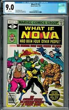 What If? #15 CGC 9.0 (Jul 1979, Marvel) Nova Had Been Four Other People? Buckler