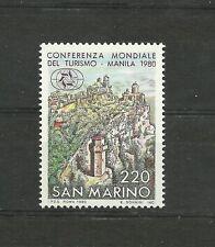 San Marino 1980 World Conference on Tourism MNH